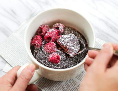 The Gluten-Free Red Velvet Mug Cake