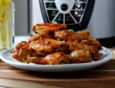 Easy Instant Pot Buffalo Chicken Wings