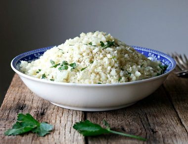 How to Make Healthy Cauliflower Rice