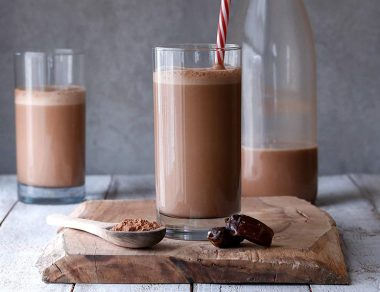 Skip the Nesquik & Blend Up This 3-Ingredient Chocolate Milk Instead