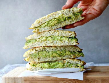 These Avocado Grilled Cauliflower Sandwiches Will Make You Forget Grilled Cheese