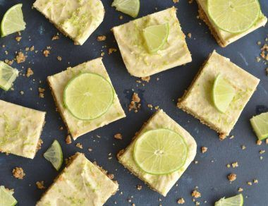 No-Bake Key Lime Pie Bars (Paleo + Gluten Free)