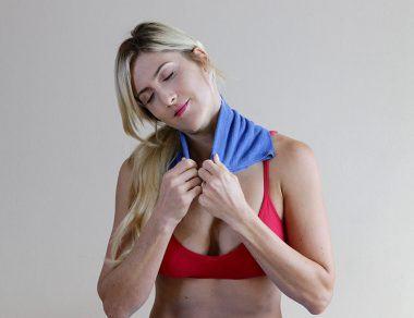 DIY Epsom Salt Compress for Neck + Shoulder Pain (Plus: Soothing Stretches)