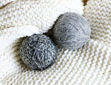 DIY Non-Toxic Wool Dryer Balls