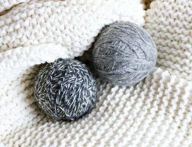DIY Non-Toxic Wool Dryer Balls