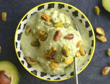 How to Make Pistachio Ice Cream with Avocado + Spinach (Trust Us)