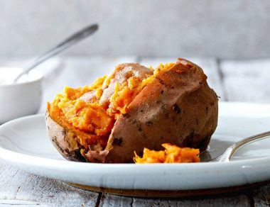 Instant Pot Sweet Potatoes Smothered in Buttery Maple Ghee (20 Minutes!)