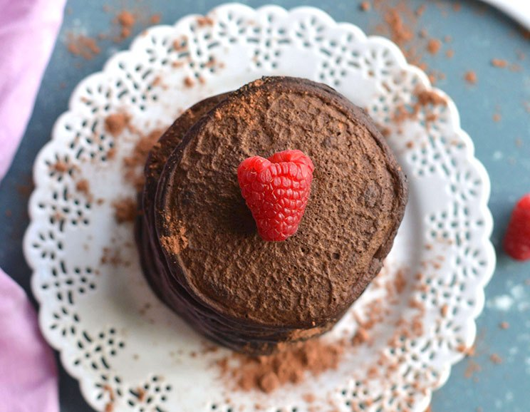 Keto Coconut Flour Chocolate Pancakes