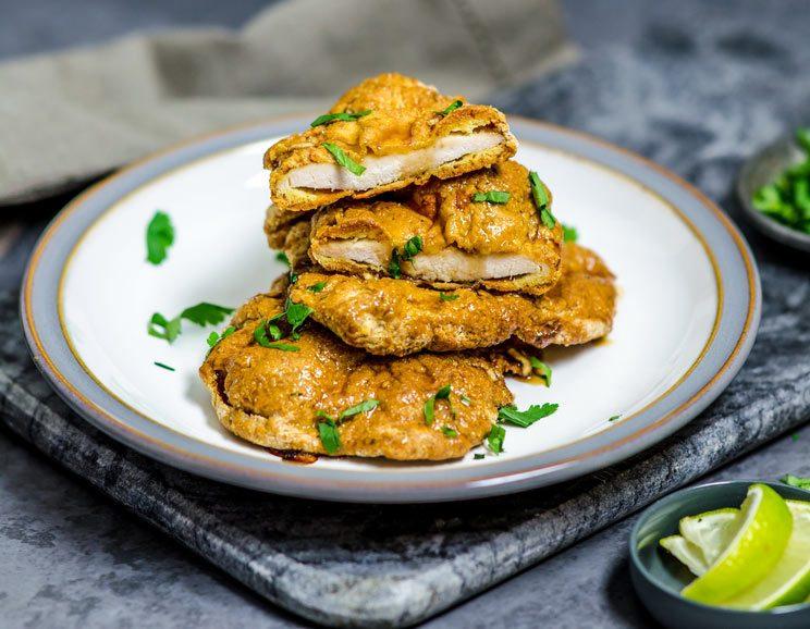 No-Fry Double Crunch Honey Garlic Chicken