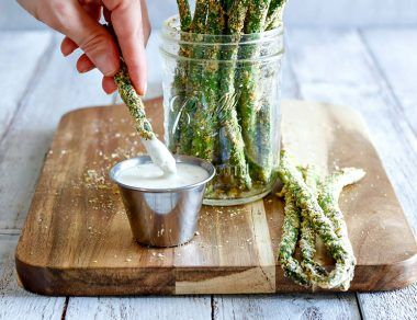 Baked Asparagus Fries Recipe