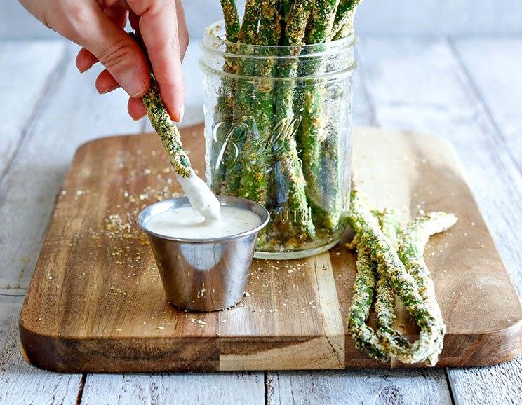 Baked Asparagus Fries Recipe