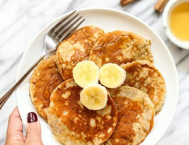 Banana Bread Collagen Pancakes (Skin-Firming + Gut-Healing)