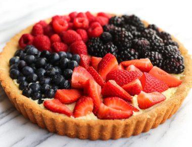 Antioxidant-Rich Berry Tart Recipe