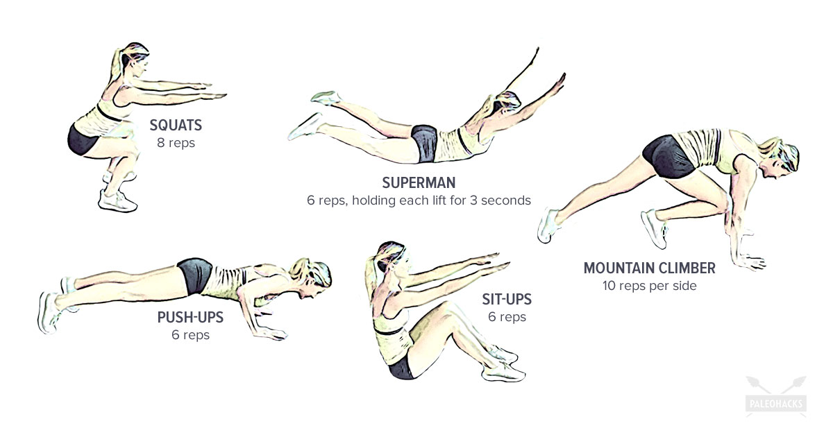 5 Basic Exercises You Can Do Anywhere   Beginner, Simple