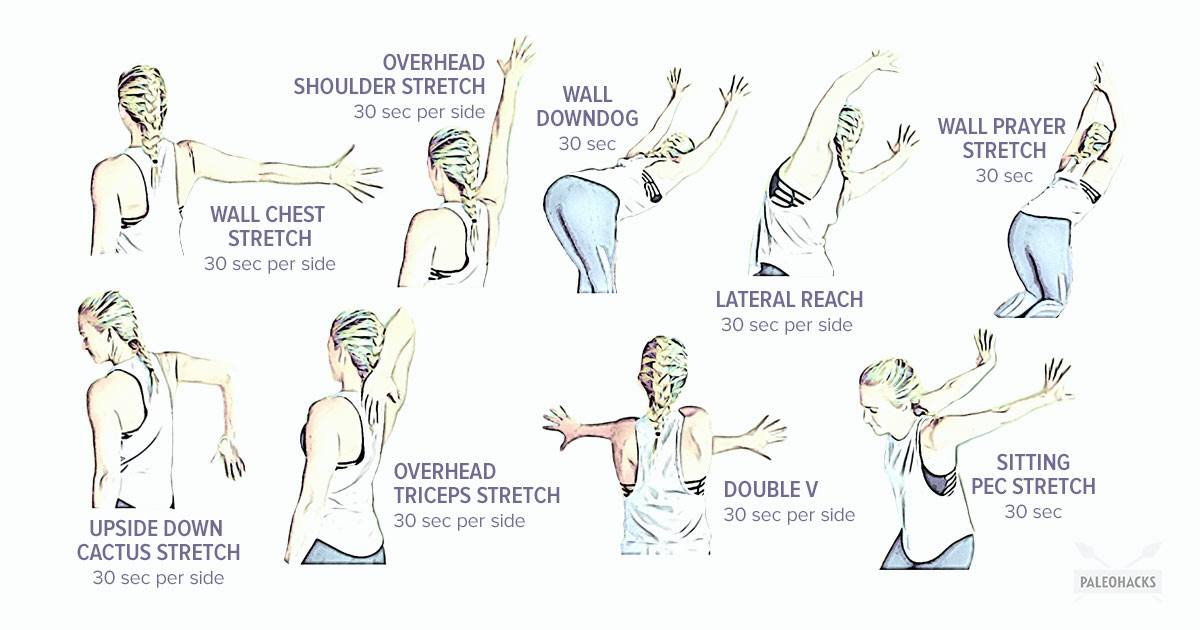 9 Easy Wall Stretches To Fix Tight Shoulders Gentle
