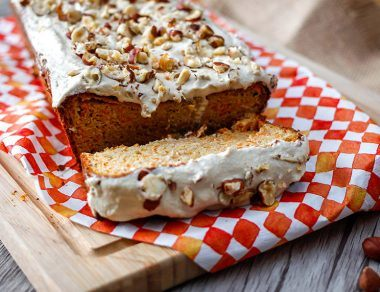 Gluten-Free Carrot Cake with Decadent Hazelnut Frosting Recipe