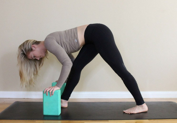 This More Intense Variation Of Half Split Also Opens Up The Glutes Grab Two Yoga Blocks For Pose