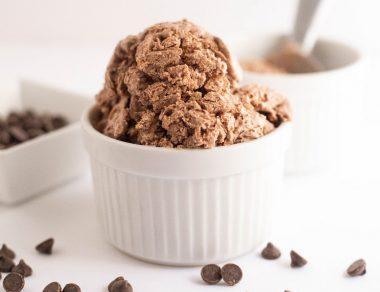 Brownie Batter Ice Cream Recipe