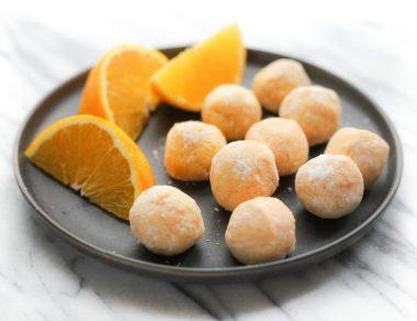 Heavenly Orange Creamsicle Truffles