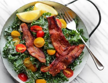 Kale BLT Salad Recipe