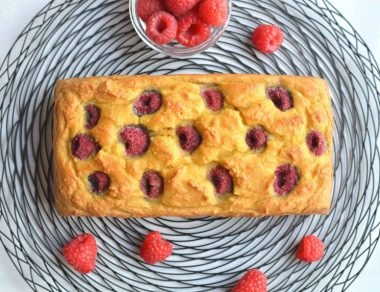 Keto Raspberry Bread