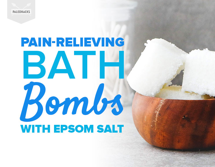 Pain Relieving Bath Bombs With Epsom Salt Natural Remedies