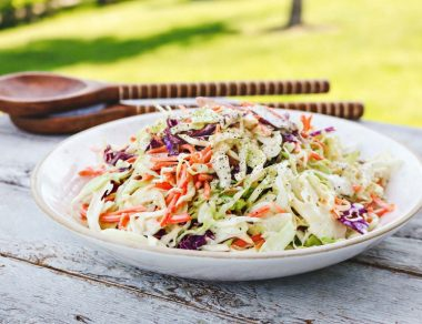 The Best Creamy Paleo Coleslaw