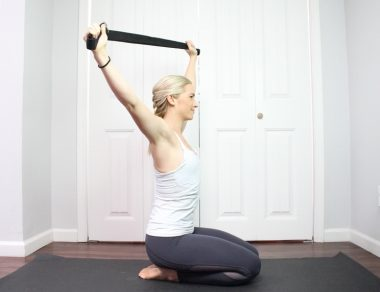 7 Ways to Use a $3 Yoga Strap for Shoulder Mobility
