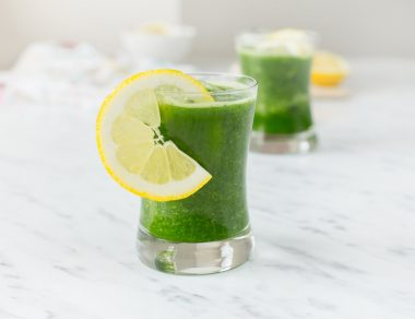 Kale and Apple Cancer-Fighting Smoothie
