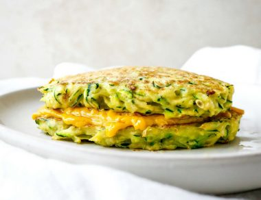 The Best Zucchini Grilled Cheese