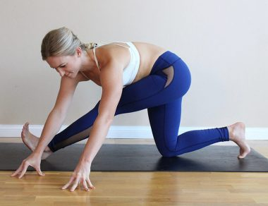 5 Yoga Poses to Awaken Your Hips After Sitting All Day