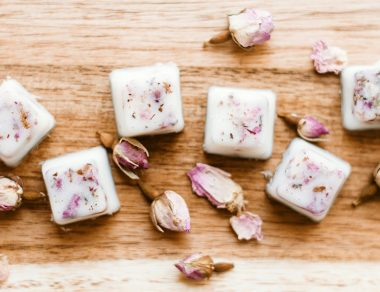 Bedtime Bath Melts with Lavender Essential Oil and Coconut Oil