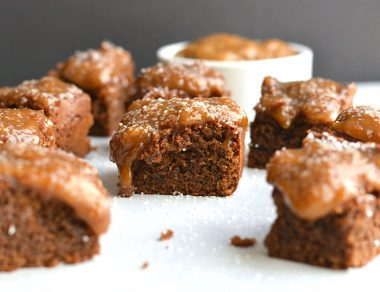 Dreamy Paleo Salted Caramel Brownies