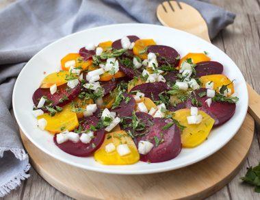 Roasted Beet and Mint Salad Recipe