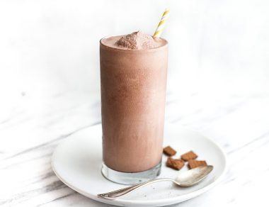 Keto Chocolate Frosty