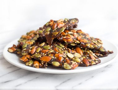 Pumpkin-Spiced Honey Almond Brittle