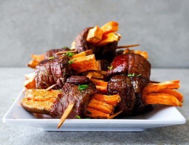 Steak Sweet Potato Fries Bites