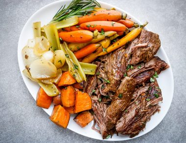 Melt-in-Your-Mouth Chuck Roast Crock Pot Recipe