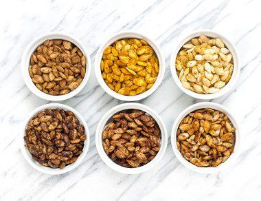 Roasted Pumpkin Seeds, 6 Easy Ways