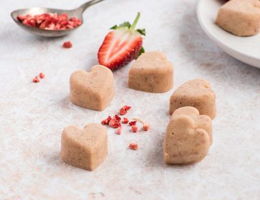 Strawberry Cashew Fat Bombs