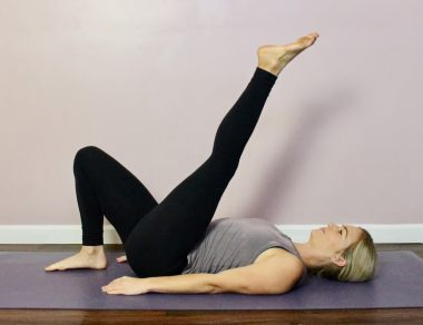 A Gentle Pilates Workout to Strengthen Your Core and Back