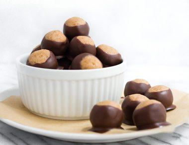 Easy Almond Butter Buckeye Recipe