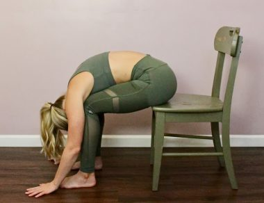 7 Easy Chair Stretches to Fix Back Pain