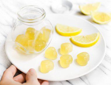 Apple Cider Vinegar Lemon Tea Gummies