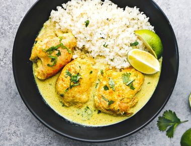 Easy Coconut Yellow Curry Chicken