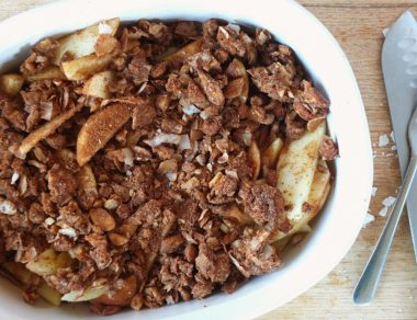 Easy Paleo Apple Crisp Recipe