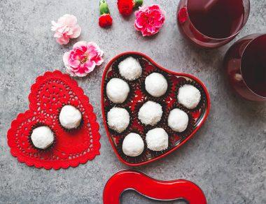 White Chocolate Keto Truffles