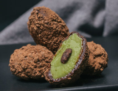 Hidden Avocado Chocolate Truffles