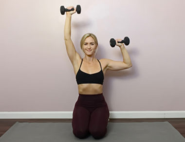 Light Dumbbell Full Body Workout (Tone & Sculpt)