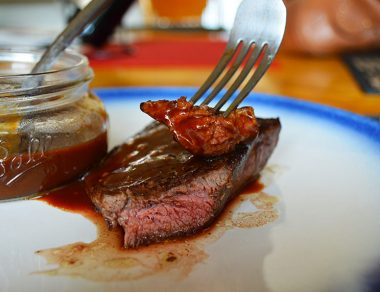 Savory Balsamic Steak Sauce